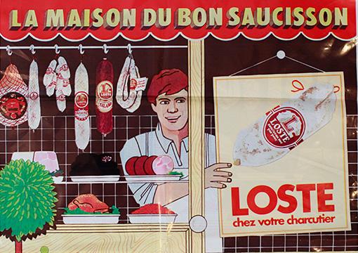 Maison Loste : la maison du bon saucisson (historique)