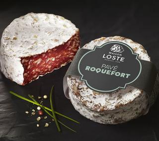 Pavé with roquefort