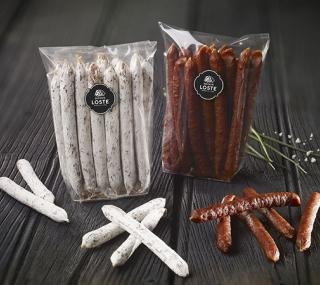 Mini sticks emmental | mini saucissons Maison Loste